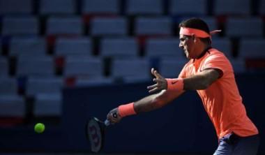 Juan Martín Del Potro venció a Almagro y sigue a paso firme en el ATP 250 de Estocolmo.