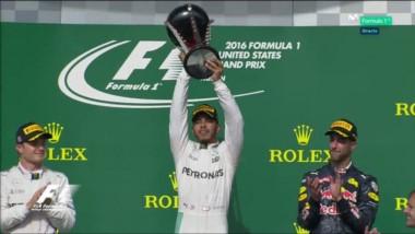 Hamilton mantuvo su dominio en Austin, donde ganó para acercarse a Rosberg rumbo al GP de México.