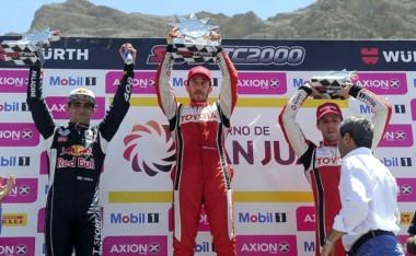 Por nada ganó Guerrieri, tras toque polémico con Rossi.