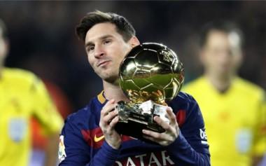 Messi, nominado al Balón de Oro 2016.