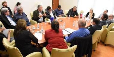 En la cumbre con el Poder Judicial y la Policía se evaluaron distintas alternativas contra la inseguridad.