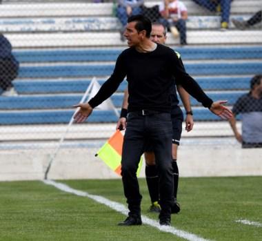 Gastón Esmerado admitió que vive los partidos con intensidad. Disfruta del buen momento de Brown.