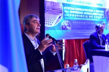 El secretario de valor agregado de Nación, Néstor Roulet, estuvo presente