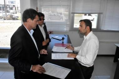 Agulleiro presentó una denuncia en Fiscalía Madryn