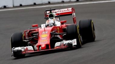 Vettel, el mejor del viernes en México.