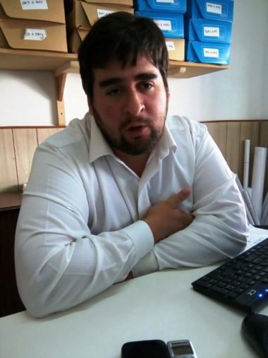 Rodrigo Vargas, director de tierras fiscales
