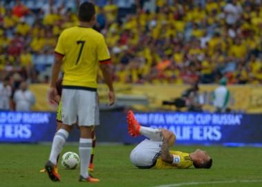 La Federación coloombiana hace oficial la vuelta de James a Madrid por su lesión.