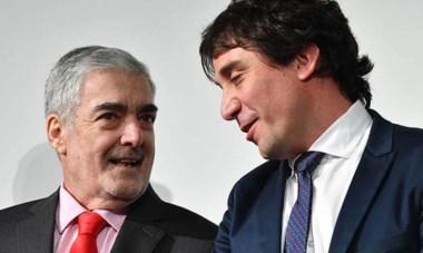 Confianza. El gobernador Das Neves le dio a Gilardino una tarea sensible y compleja, reflejando su fe en las generaciones más jóvenes.