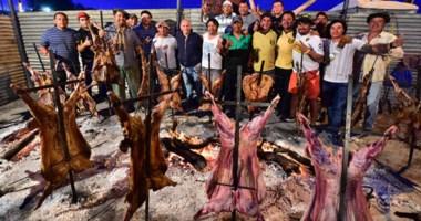 La Fiesta Nacional del Cordero se realizó una vez más con el éxito de siempre, en Puerto Madryn.