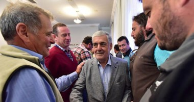 Los productores mostraron su agradecimiento al gobernador por la postura que tomó la provincia.