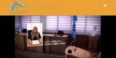 Postal. La flamante página web tiene información sobre los concejales y sobre toda la actividad legislativa.