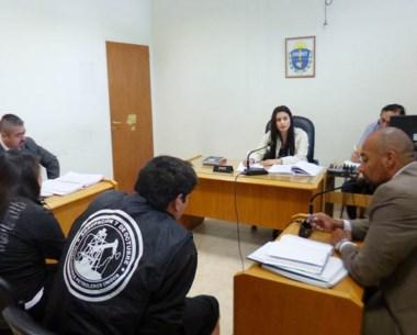 Delgado y Gallardo ocuparon una casa en el barrio Abel Amaya.