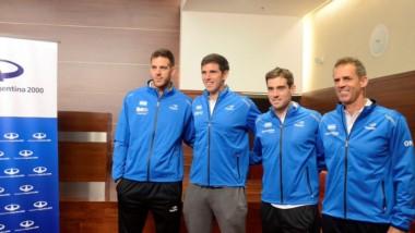 Argentina ya está en Croacia y ya palpita la final de la Copa Davis.