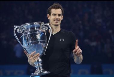 Murray ganó el Masters y se afianzó en el número uno mundial.
