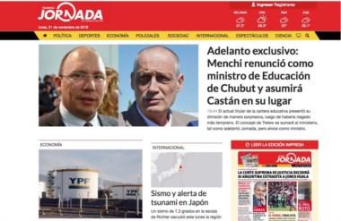 Por la tarde la Web de Jornada fue la primera en dar a conocer la noticia sobre la renuncia de Menchi.