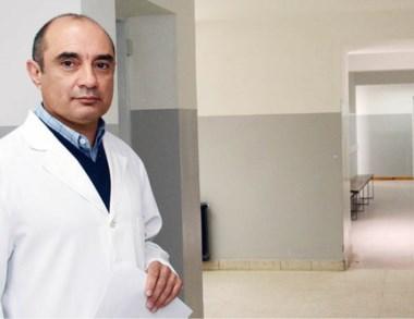 Jorge Vecchio, titular del Hospital Zonal de Trelew.