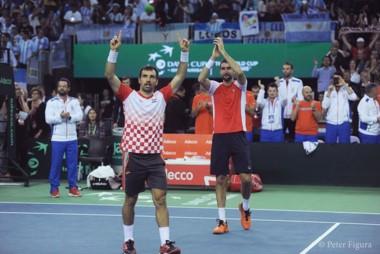 Cilic y Dodig dieron la ventaja a Croacia en la Copa Davis.