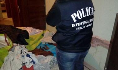 Los allanamientos se realizaron a raíz del robo sucedido en Gaiman.