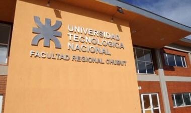 Sede de la UTN de Puerto Madryn, que ya inscribe para sus carreras.