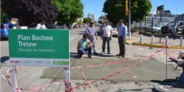 Obras. Desde el municipio y en conjunto con la Cooperativa Eléctrica se iniciaron los trabajos en las calles.