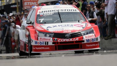 El Misil demostró un gran ritmo del Toyota Corolla para ascender hasta la punta de la competencia y lograr el triunfo en el trazado rionegrino.