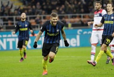Icardi se despachó con un doblete y una asistencia en la victoria del equipo de Milan.