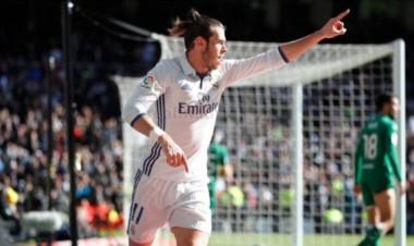 Mientras CR7 sigue con la pólvora mojada Bale y Morata se encargan del ataque.