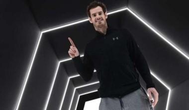 Murray celebró en la oficialización del nuevo número 1 del ranking ATP.