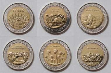 Se rediseñarán las monedas de 1 y 2 pesos (imagen ilustrativa)