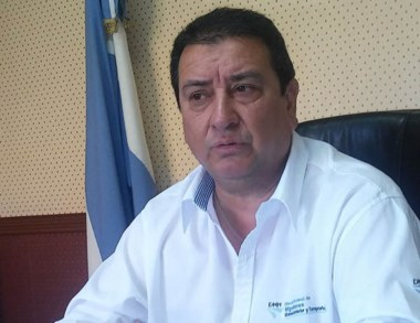 Héctor Barrios, delegado de migraciones de Comodoro Rivadavia.