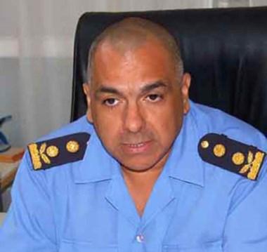 Marcelo Diósquez. Jefe policial.