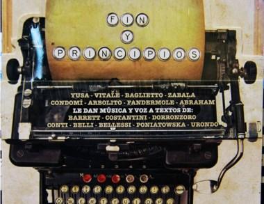 """El disco-libro """"Fin y Principios"""", una verdadera joya de música y poesía."""