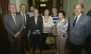 """""""Tuvieron un excelente comportamiento"""", dijo Das Neves de los legisladores nacionales."""