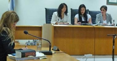 Tribunal femenino. Tres juezas de Comodoro hoy leerán el monto de la pena a imponer a los inspectores.