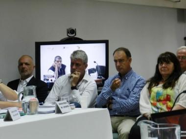 Buzzi, Eliceche, Zudaire y Dufour, cuatro de los imputados (foto @sebamadryn)