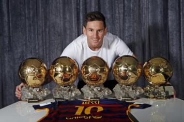 Messi va por su sexto Balón de Oro.