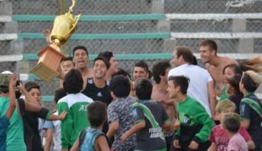 Germinal le dio una paliza a Moreno y se consagró campeón del Clausura de la Liga del Valle.