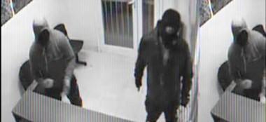 Una de las cámaras de seguridad de la firma Cruz del Sur  muestra cómo se realizó el robo el pasado 15.