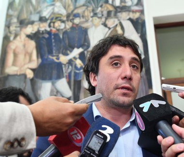 El ministro crítico con Nación.