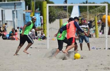 El Fútbol Playa será una de las actividades que se llevará a cabo en el Parador Municipal de Puerto Madryn.