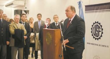 Javier Martín, el día de su asunción al cargo. (Foto cortesía diario El Santafesino).
