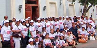 Compromiso. Las madres difundirán acciones de prevención en las plazas y barrios.