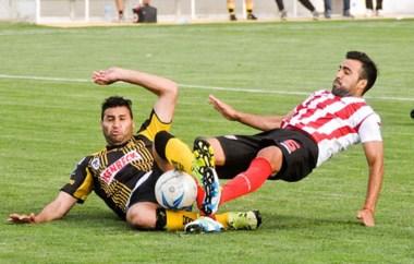Jorge  Piñero Da Silva no pudo convertir ayer en un partido que no cambia el panorama del