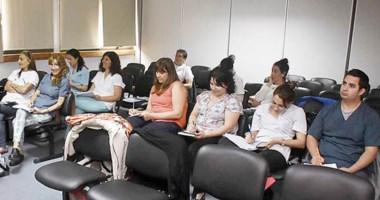 Los cursos de capacitación  para odontólogos patagónicos se dictaron en el hospital Ísola de Madryn.