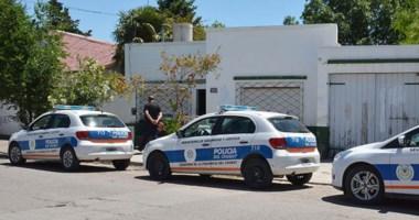 Trata. Uno de los registros domiciliarios en Trelew se desarrolló el 30 de noviembre en la calle Honduras.