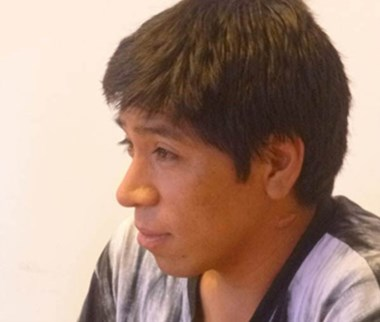 Pablo Daniel Hueque. En libertad.
