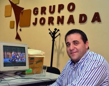 En casa. Toviggino visitó la redacción de Diario Jornada y no esquivó temas en la entrevista mano a mano.