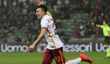 La Roma gana al Sassuolo en la Serie A con un nuevo gol de El Shaarawy.