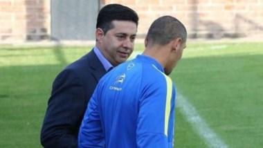 Angelici, presidente de Boca y el