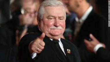 Lech Walesa, un (ex?) símbolo de la lucha contra el oscuro mundo tras la Cortina de Hierro...